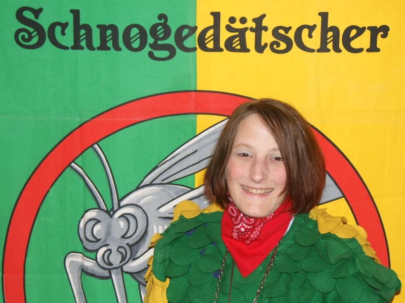 Zeremonienmeisterin Christine Wehrle