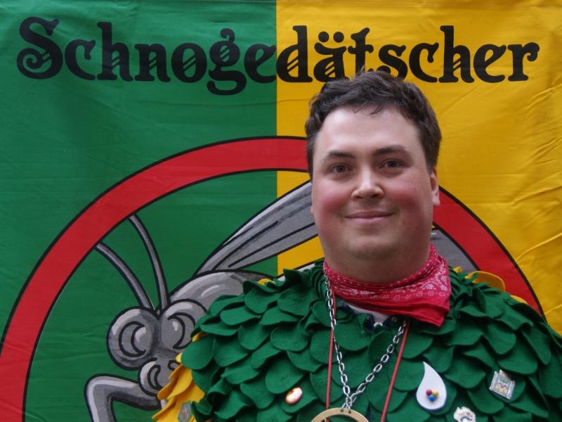 Kassierer Daniel Wehrle